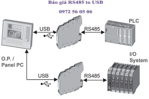 báo giá bộ chuyển đổi rs485 sang usb