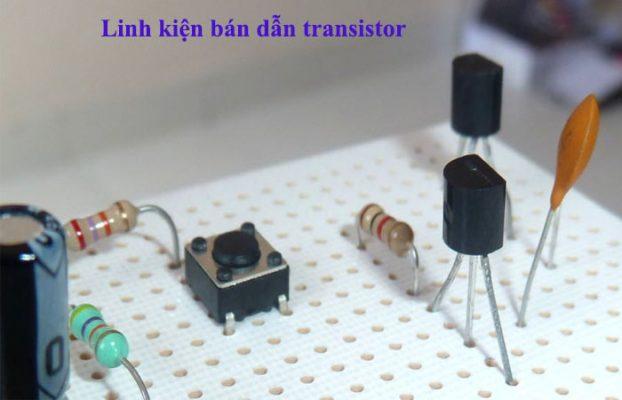 mạch khuếch đại dùng transistor
