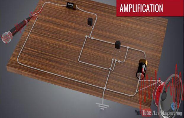 mạch khuếch đại dùng transistor c1815
