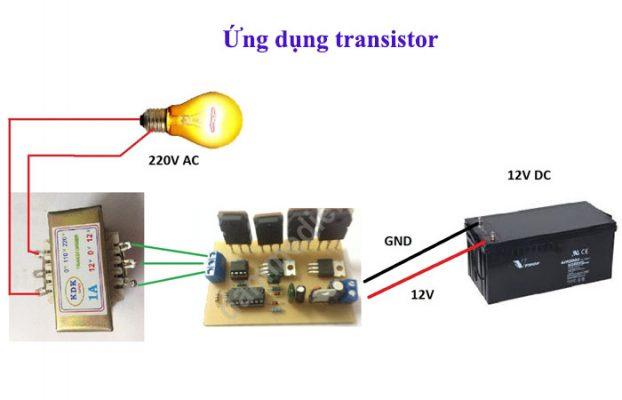 ứng dụng của transistor trong thực tế
