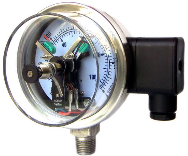 đồng hồ áp suất relay loại 3 kim