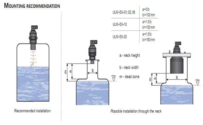 Cách lắp đặt cảm biến đo mức nước