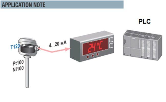 Ứng dụng của cảm biến nhiệt pt100 3 dây