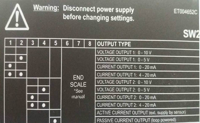 output bộ cách ly lines 4-20ma