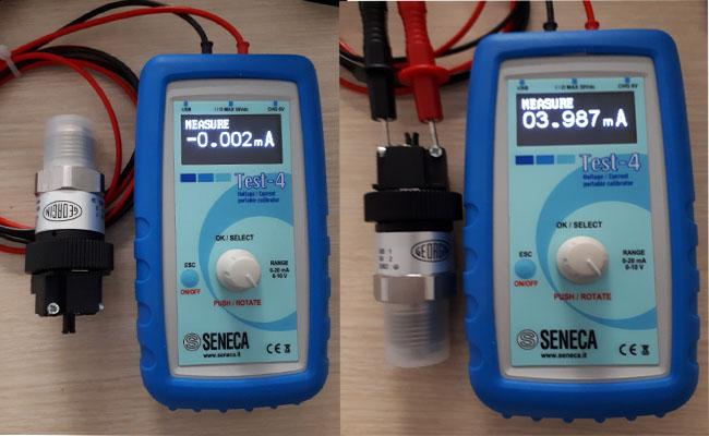 dùng thiết bị đo dòng điện kiểm tra tín hiệu cảm biến