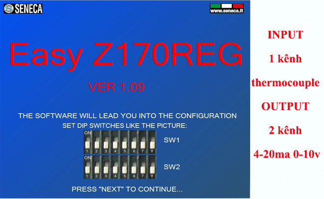 Bộ chia tín hiệu biến trở ra 4-20ma 0-10v