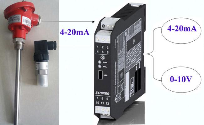 Bộ chia tín hiệu dòng analog 4-20ma 0-10v xuất xứ Châu Âu