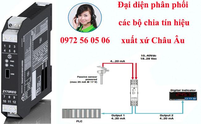 Bộ chuyển đổi dòng điện 4-20ma sang 0-10v