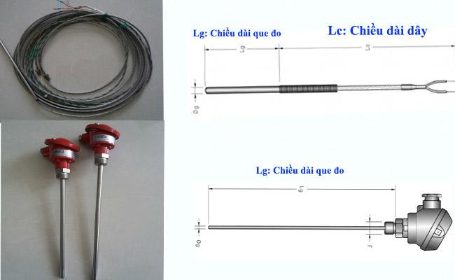 cách chọn đầu dò nhiệt độ - dây dò nhiệt độ