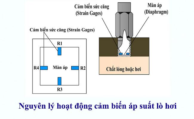 nguyên lý hoạt động của cảm biến đo áp suất lò hơi 4-20ma