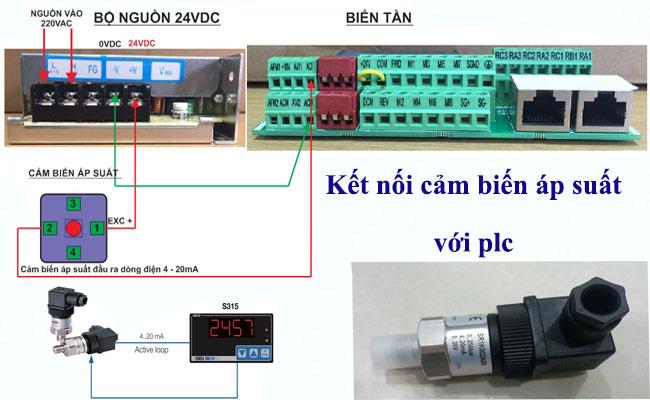 nguyên lý và ứng dụng cảm biến đo áp suất nước 4-20ma