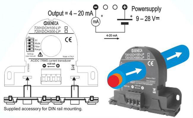 Biến dòng 4-20ma T201DCH100-LPv
