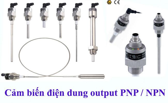 Các loại cảm biến đo mức điện dung trong công nghiệp