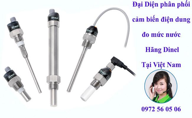 Cảm biến điện dung đo mức chất lỏng chát rắn