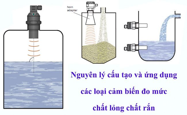 Nguyên lý và cấu tạo cảm biến mức chất lỏng và chất rắn