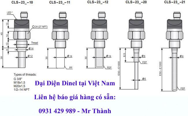 Cảm biến đo mức CLS-23N