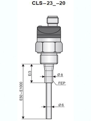 Cảm biến đo mức nước CLS-23n-20