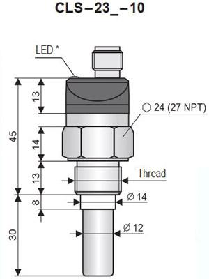 Cảm biến mức dầu CLS-23n-10