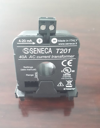 Biến dòng analog 4-20mA T201 Seneca