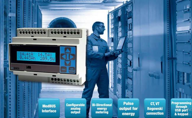 đồng hồ đo điện năng seneca s203ta-d