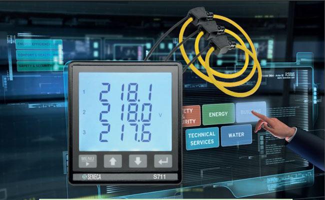 đồng hồ đo điện năng seneca