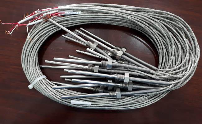 đầu dò nhiệt độ loại dây 2 mét hãng termotech