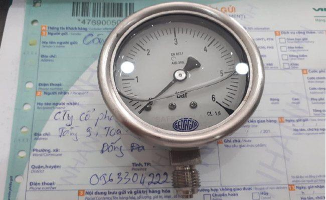 đồng hồ áp suất m5000 georgin