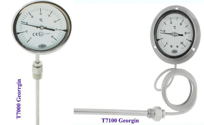 đồng hồ đo nhiệt độ georgin t7000 t7100