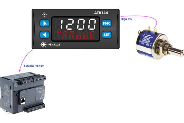 bộ hiển thị tín hiệu biến trở output 4-20ma
