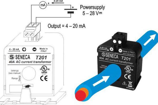Hướng dẫn đấu nối biến dòng analog 4-20ma