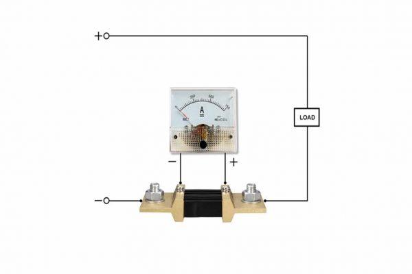 cách đấu nối điện trở shunt trong mạch