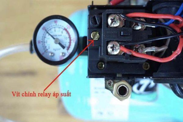 Relay áp suất máy nén khí dạng cơ