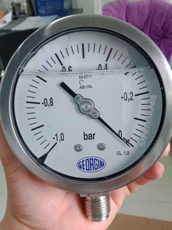 Đồng hồ áp suất chân không M5000DD0A1G00 xuất xứ Georgin - France