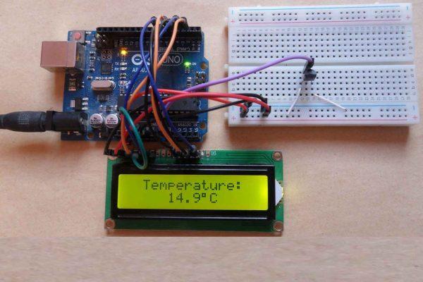 Thiết kế mạch đo nhiệt độ dùng lm35 hiển thị nhiệt trên LDC