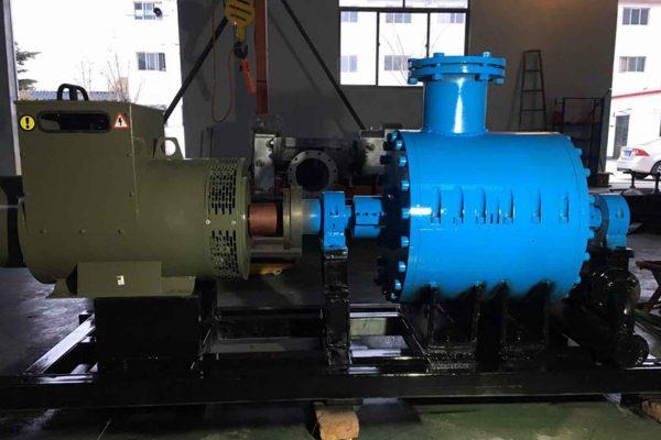 Ứng dụng máy phát điện xoay chiều 3 pha trong tua-bin hơi nước