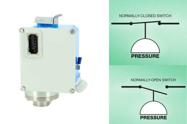 Giá công tắc áp suất cơ dùng cho nước - dầu thuỷ lực - khí nén