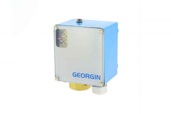 Công tắc áp suất điều khiển bơm nước dải đo -1....1 bar model UP06 xuất xứ Georgin - Pháp