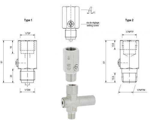 Ống giảm áp cho đồng hồ áp suất giúp tránh quá áp khi vận hành trên các đường ống