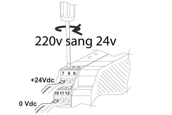 Thiết bị chuyển dòng ac sang dc 24v xuất xứ châu âu